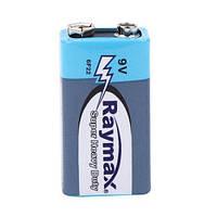 5х Батарейка крона Raymax CR-9V 6F22 9В батарея (5 штук в наборе)