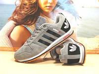Кроссовки мужские Adidas Neo (реплика) серые 45 р.