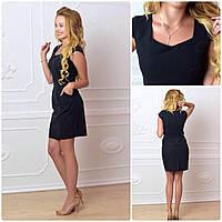 Платье модель 746, черный