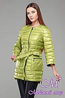 Женская осенняя куртка-плащ с поясом (р. 42-54) арт. Белла