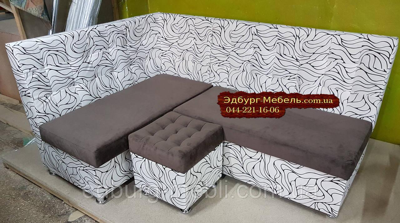 Кухонний куточок = ліжко Квадро тканина антикоготь