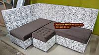 Кухонний куточок = ліжко Квадро тканина антикоготь, фото 1