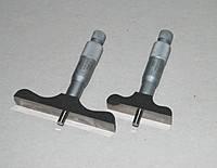 Глубиномер микрометр. ГМ 0-25 (Польша) 0.01