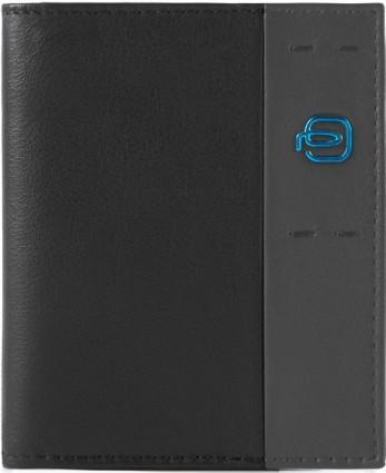 Классическая кожаная кредитница Piquadro Pulse для 20 карт PP1395P15_N, черный