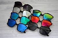 Солнцезащитные  очки квадрат с высокой переносицей