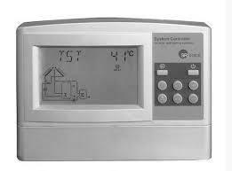Контроллер для гелиосистем (солнечных коллекторов) СК618С6 (для 2-ух баков-накопителей)