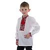 Вышивка крестом для мальчика с красным орнаментом, фото 3