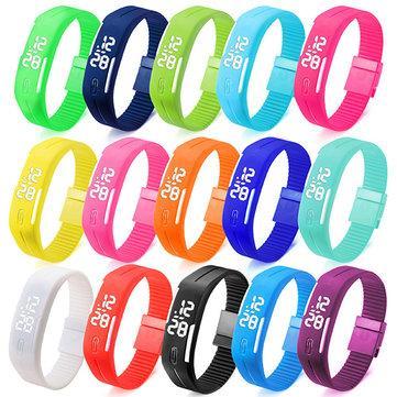 Часы-браслет спортивные Sport Clock LED