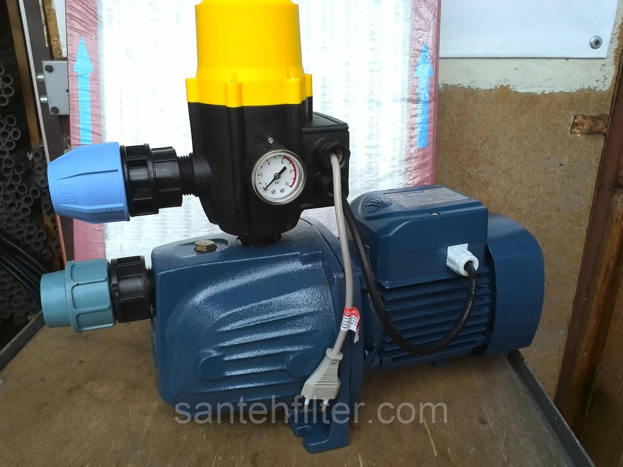 Насосна станція Pedrollo JSW 2AX 1.1 кВт з регулятором тиску