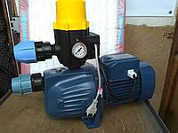 Насосна станція Pedrollo JSW 2AX 1.1 кВт з регулятором тиску, фото 1