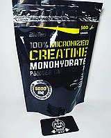 BioTech 100% Creatine Monohydrate 500 g (пакет)