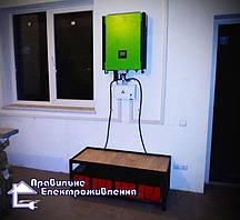 Гібридна мережева СЕС 10 кВт с. Язлівчик 4
