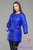 Женская осенняя яркая куртка-плащ (р. 42-54) арт. Белла