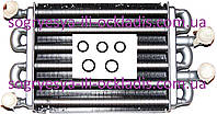 Теплообменник битермический с прокладками (фирм.упак) Baxi, Western D (турбо), артикул 5700520, код сайта 0299