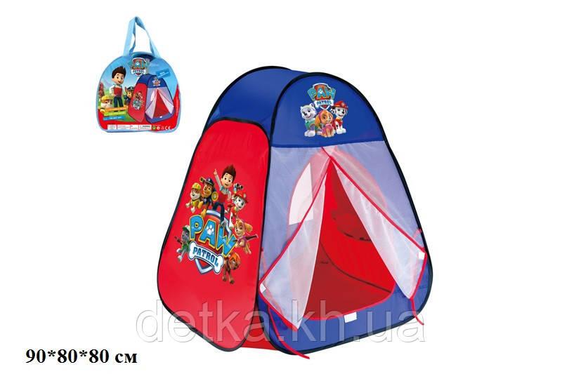 """Палатка 817S """"Paw Patrol"""" в сумке"""