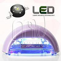 УФ лампа Quick CCFL+LED на 18 Вт (DIMOND) для сушки гель лаков и геля (фиолетовая)