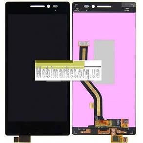 Модуль (дисплей+сенсор) для Lenovo Vibe X2 чорний, фото 2