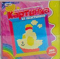 Картинка из пластилина Кораблик 4006 Стратег Украина