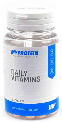 Витамины и минералы MyProtein Daily Vitamins 60таб, фото 2