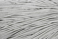 Шнур 4мм (200м) белый+серебро