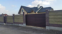 Ворота в'їзні у виконні LINE, фото 1