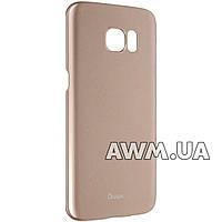 "Чехол для Samsung Galaxy S7 Edge OuCase ""Exclusive"" золотой"