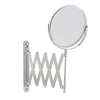 Зеркало косметическое увеличительное выдвижное 3:1 Axentia