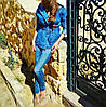 Женская джинсовая парка с капюшоном, фото 2