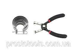 Набор оправок поршневых колец 40-80 мм Force 62005