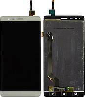 Дисплей (экран) для телефона Lenovo Vibe K5 Note A7020 + Touchscreen Original White