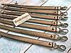 Ручка для сумки с карабинами (эко-кожа), золото