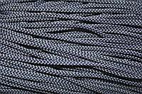 Шнур 4мм (200м) т.синий+св.серый
