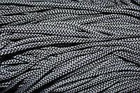Шнур 4мм (200м) черный +св.серый
