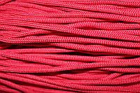 Шнур 5мм с наполнителем (200м) красный
