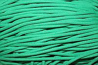 Шнур 5мм с наполнителем (200м) зеленый (трава)