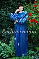 Платье женское с вышивкой СЖ 65481