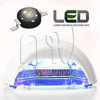 УФ лампа Quick CCFL+LED на 18 Вт (DIMOND) для сушки гель лаков и геля (белая)