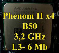 Процессоры (б/у) AMD Phenom II x4  B50, 3,2ГГц (Phenom II x4 955 ), Tray Athlon 450 945 965 925 910