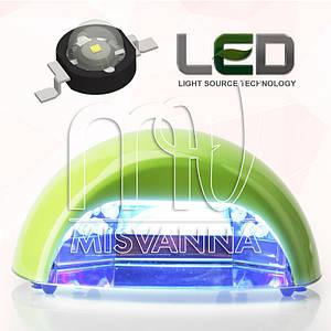 УФ лампа Quick CCFL+LED на 18 Вт (DIMOND) для сушки гель лаков и геля (салатовая)