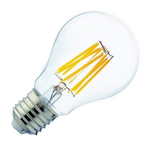 Лампа филамент HOROZ ELECTRIC FILAMENT GLOBE-8 LED 8W А60 Е27 2700К 850Lm 220-240V