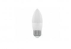 Лампа свеча HOROZ ELECTRIC ULTRA-6  SMD LED 6W 6400K E27 480Lm 175-250V
