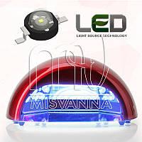 УФ лампа Quick CCFL+LED на 18 Вт (DIMOND) для сушки гель лаков и геля (красная)
