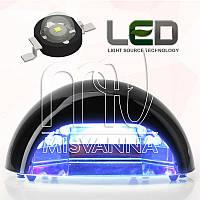 УФ лампа Quick CCFL+LED на 18 Вт (DIMOND) для сушки гель лаков и геля (черный)