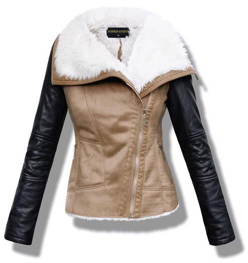 Женская  куртка, дублёнка на меху