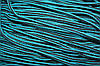 Шнур 5мм с наполнителем (200м) черный+мор. волна