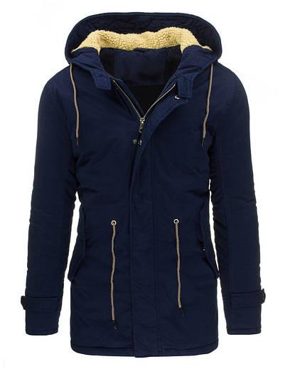 Зимняя парка куртка с капюшоном для мужчин