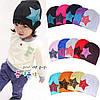 Шапочки  Bape детские для мальчика и девочки  Фиолетовая звезда, фото 2