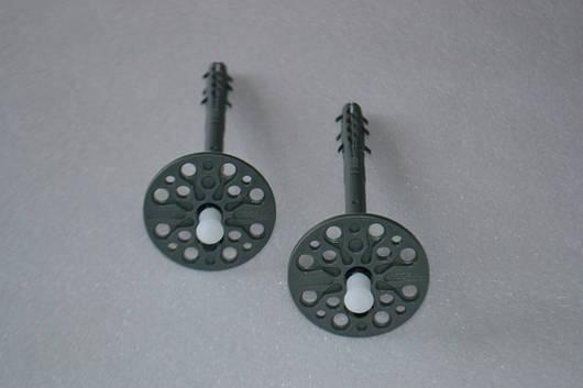 Дюбель-зонт с оцинкованным гвоздем и термоголовой 10х90мм (цветной).