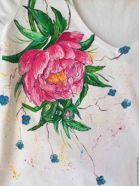 Краски по ткани и шелку