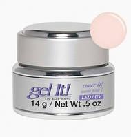Камуфлирующий розовый гель №1 EzFlow LED/UV Cover it!, warm pink I 14г